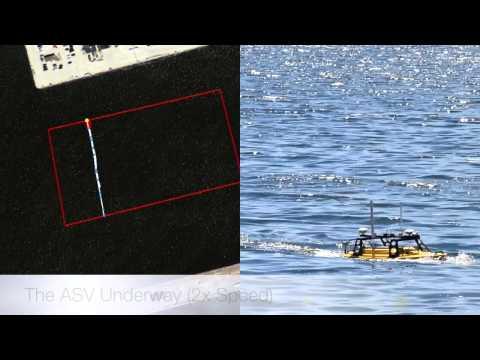 Autonomous Surface Vessel Hydrography Demo