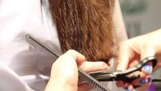 Стрижка горячими ножницами в салоне красоты Натюрель(, 2014-10-22T05:58:32.000Z)