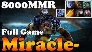Dota 2 - Miracle- 8000MMR Plays Alchemist 1339GPM and 1013XPM - Full Game - Ranked Match Gameplay