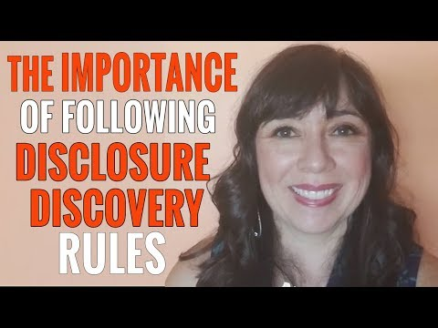 Sanctions You May  Suffer if You Don't Follow Disclosure & Discovery Rules
