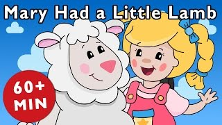 Mary Had a Little Lamb and More | Nursery Rhymes from Mother Goose Club!