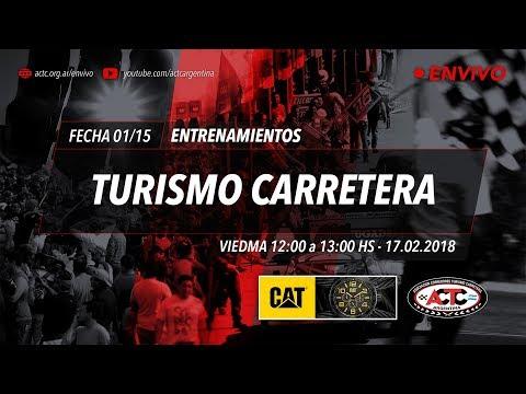 01-2018) Viedma: Sábado Entrenamientos TC