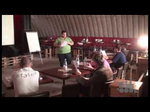 Artparovoz Masterclass: Как правильно организовать концерт (Алматы, 2011)