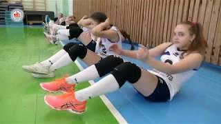 Открытый урок волейбольного класса СДЮШОР «Жемчужина Полесья»