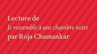 """Roja Chamankar, """"Je ressemble à une chambre noire"""""""