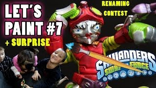 Lets Paint: MRS. Spy Rise Surprise + Renaming Contest (Skylanders Swap Force Custom Variant) Part 7