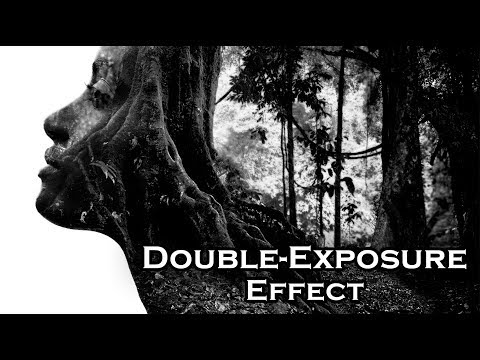Photoshop: How to Quickly Create Stunning, Black and White Double-Exposure Portraits thumbnail