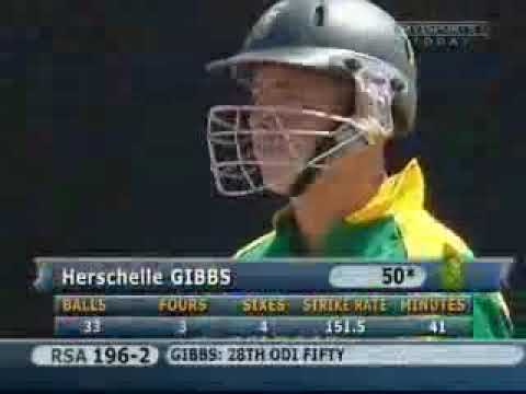 6 sixes in 6 ball  gibbs