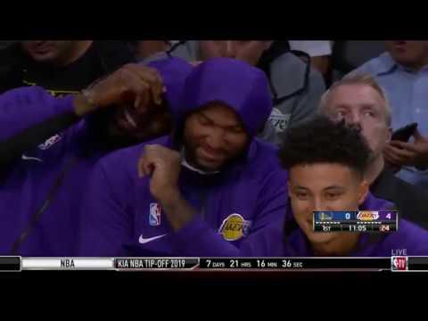 Los Angeles Lakers Vs Golden State Warriors 14/10/2019 Pretemporada