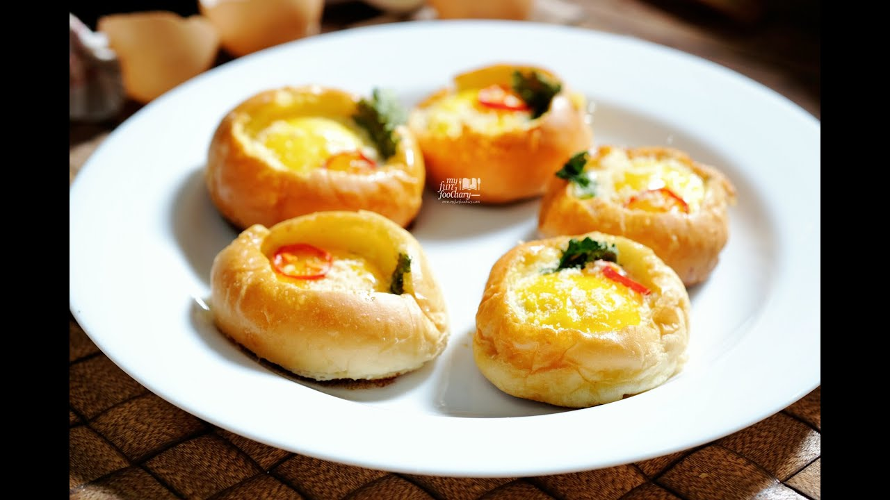 Quick And Easy Recipe Myfunfoodiary Bread Bowl Egg For Breakfast