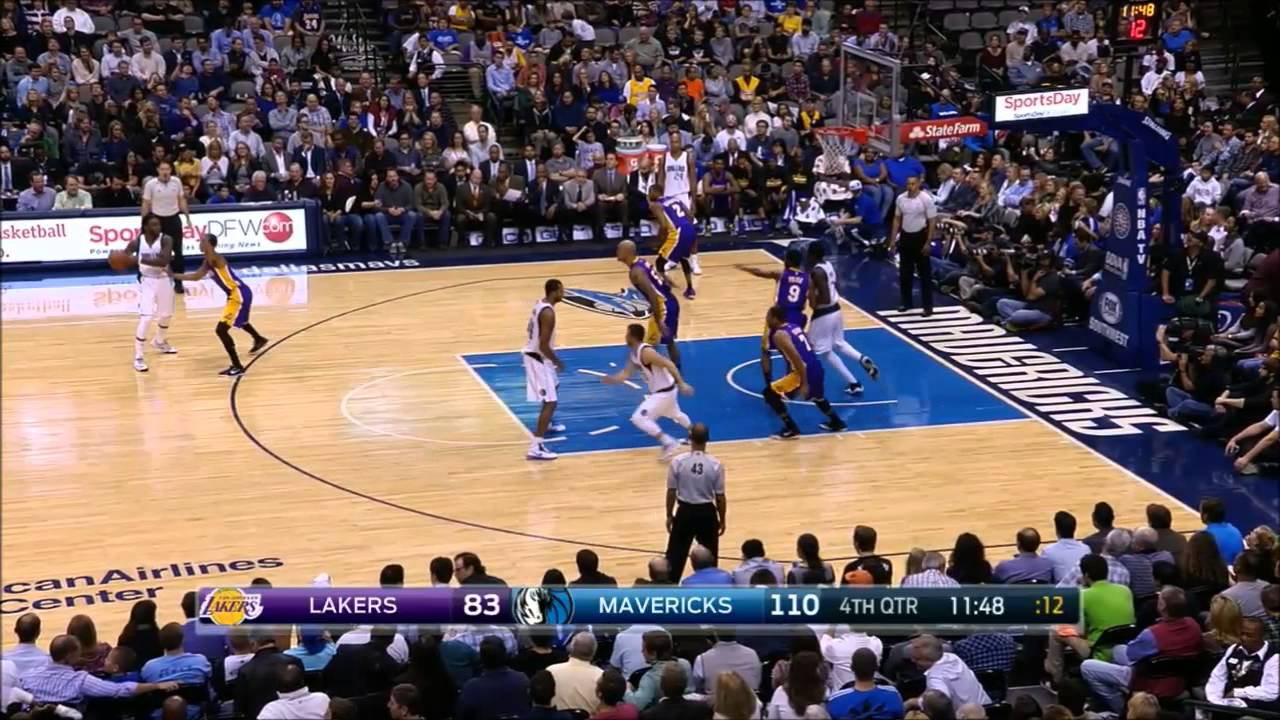 Brandan Wright, Al-Farouq Aminu and Jae Crowder highlights vs LA Lakers (11.21.2014)