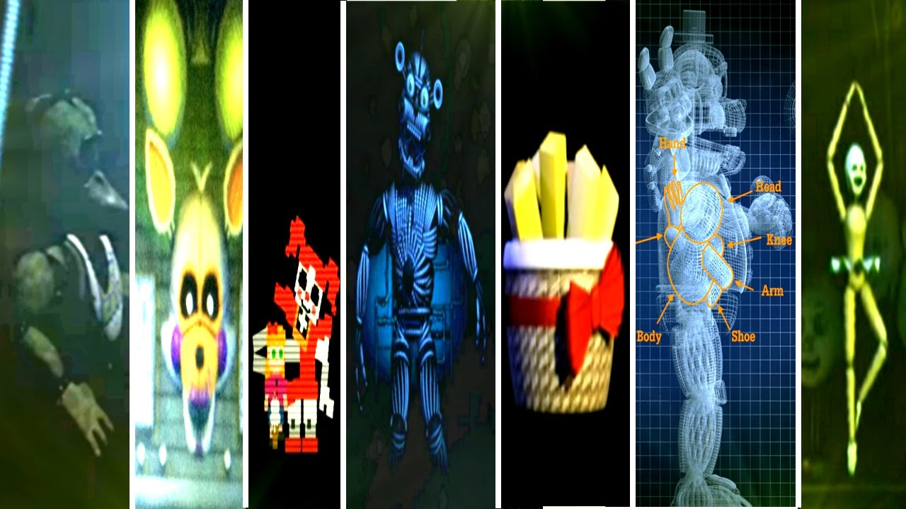 Download Five Nights at Freddy's: Sister Location All Easter Eggs & Secrets!
