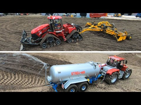 LARGE SCALE And IMPRESSIVE FARMING And AGRICULTURAL RC MACHINES In ACTION