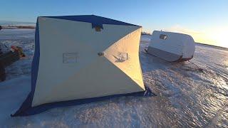 Наконец то рыбалка по открытой воде Нет Мы ещё на льду И такого клёва ждали весь сезон ЧАСТЬ 2