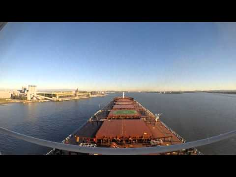 Bulk Carrier Arrival Fisherman Island Coal Wharf