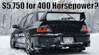 Why it Cost $5,750 to make a 400 Horsepower Mitsubishi EVO 8
