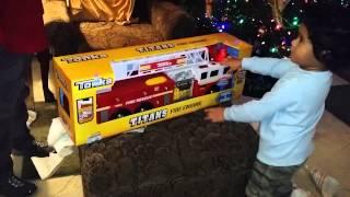 Sonny gets a firetruck