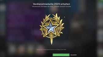 CS:GO Verdienstmedaille 2020 erhalten + CS Rang Erklärung!