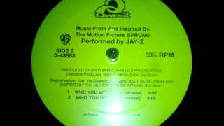 Jay Z   Who You Wit Ski Instrumental 1997 HQ