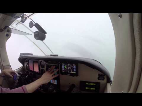Eagle Creek Flight IFR Full Departure and Arrival with ATC