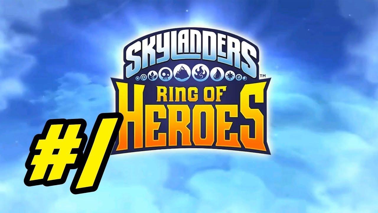 Skylanders Ring Of Heroes 1 Getting Started