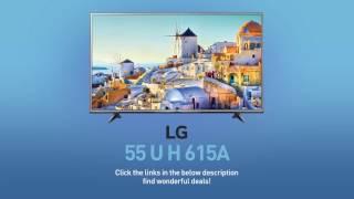 LG 55UH615A 4K UHD HDR Smart LED TV - 55