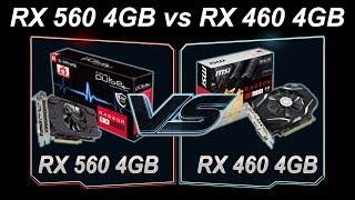 RX 560 4GB vs RX 460 4GB  Pentium G4560  DX11  DX12  Games Benchmarks  Arcade Template Games List  Battlefield 1 Deus Ex  Mankind Divided
