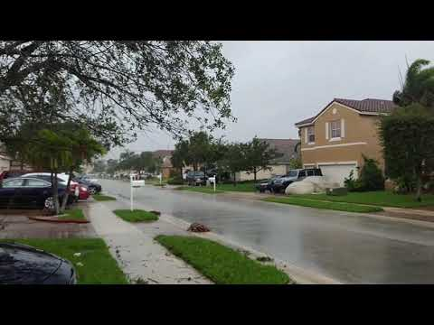 Hurricane Irma - Pembroke Pines 9/10, 10:50 am