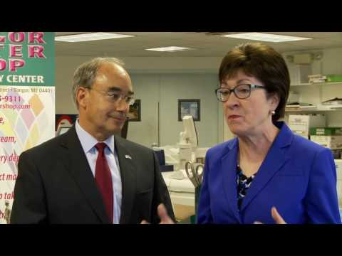 Bruce Poliquin is Supported by Senator Susan Collins and Small Business NFIB/Maine
