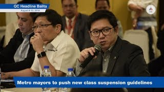 Metro mayors to push new class suspension guidlines