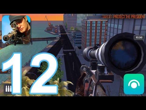 Sniper 3D Assassin: Shoot to Kill - Gameplay Walkthrough Part 12 - Region 4 Completed (iOS, Android)