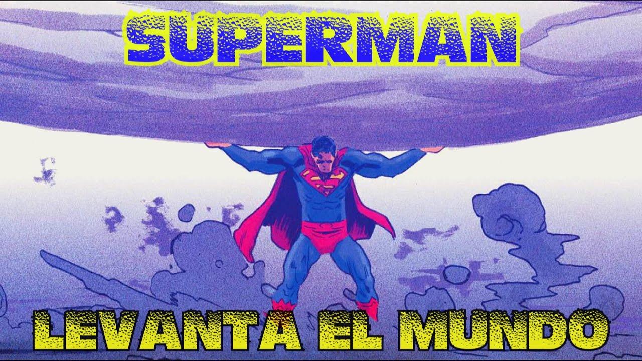 SUPERMAN levanta el peso del mundo !!! - alejozaaap