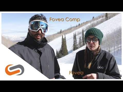 POC Fovea vs Fovea Comp Goggle Review | SportRx