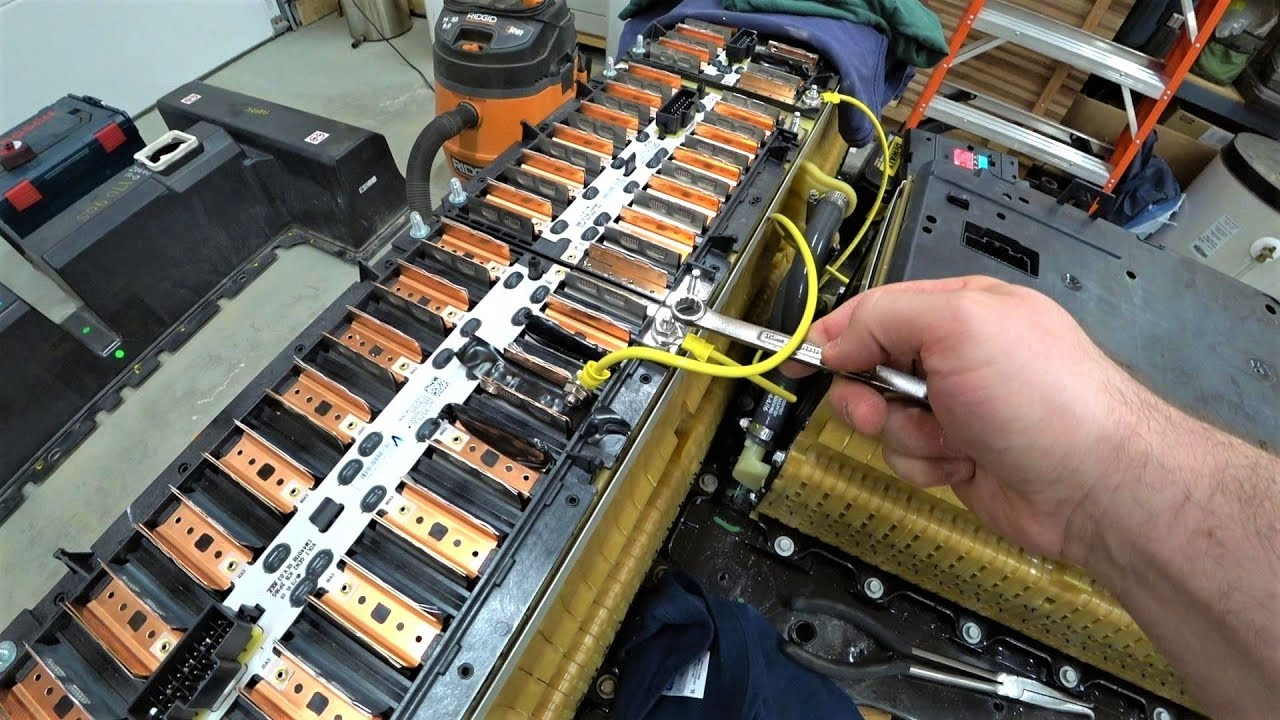 Chevy Volt Battery >> Battery Modifying From Chevy Volt For Diy Powerwall Gen 2