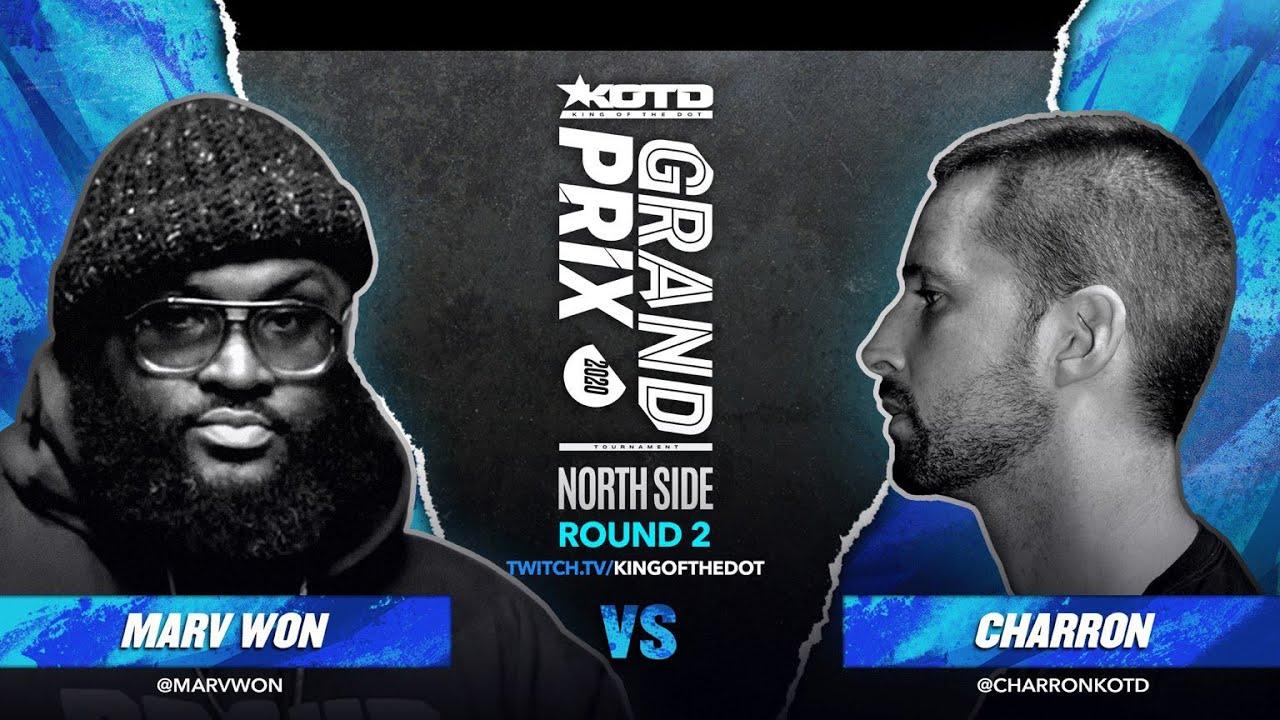 Download KOTD - Rap Battle - Charron vs Marv Won   #GP2020 R2