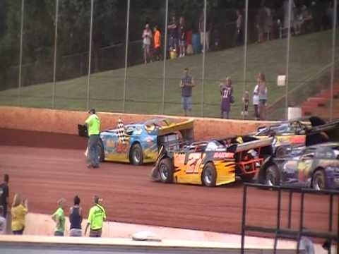 NEW SENOIA SPEEDWAY - NEWNAN GA - DRIVERS TRIBUTE 2 MICHAEL CESARE - AUGUST 13, 2011