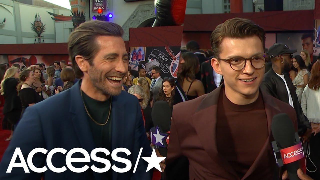 Jake Gyllenhaal And Tom Holland Call 'Spider-Man' Bromance ...