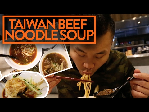 FUNG BROS FOOD: Taiwanese Beef Noodle Soup in Taipei