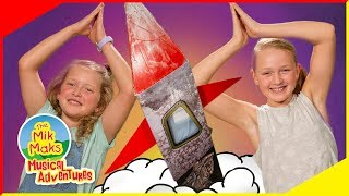 Lets Build a Rocket Ship | Nursery Rhymes and Kids Songs | The Mik Maks