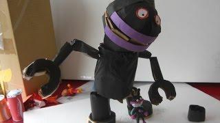 バイキンマンの巨大ロボ(だだんだん)をダンボールで作ってみた thumbnail