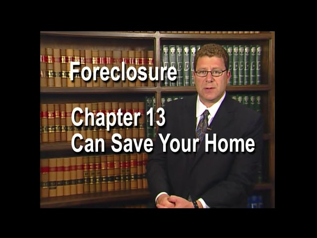 Chapter 13 Help Prevent Foreclosures with Chapter 13 Bankruptcy