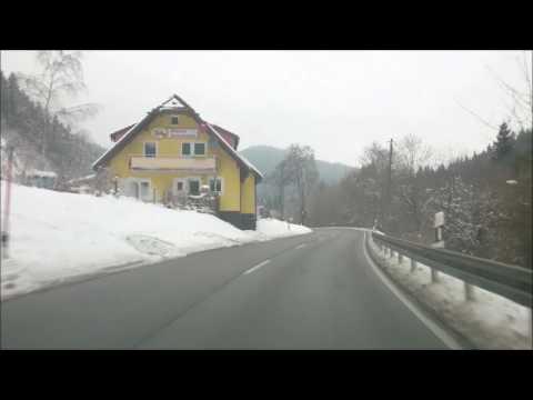 Winter Drive Through The Blackforest Titisee Neustadt Youtube