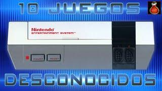 NES    10 Juegos muy Desconocidos de la Nintendo NES