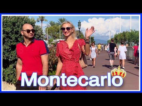 【4K】WALK MONACO 4k virtual walk MONTECARLO slow tv TRAVEL CHANNEL