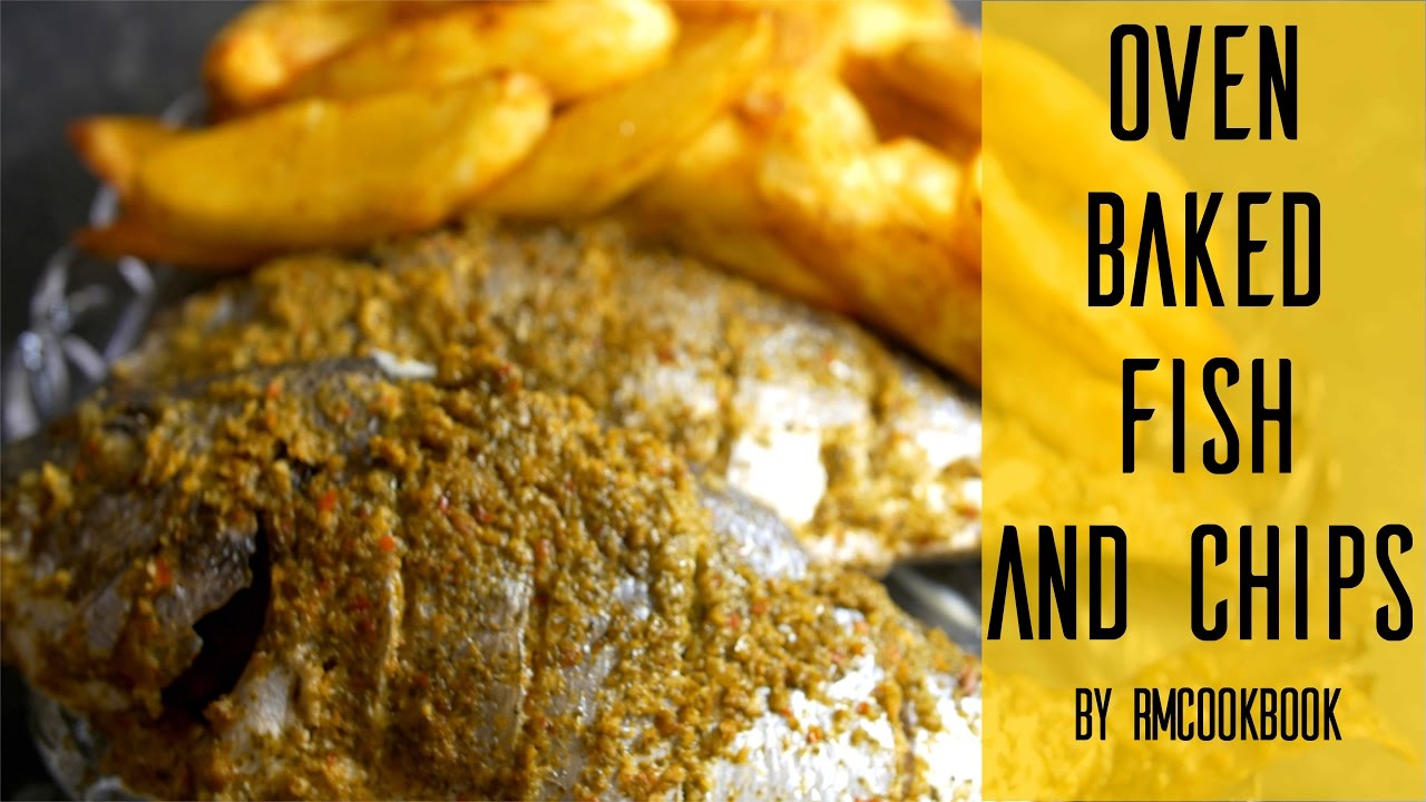 An easy healthy oven baked fish and chips ercipe youtube for Baked fish and chips