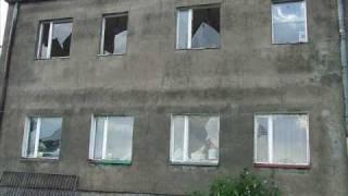 Gradobicie w Choszcznie 10.06.2010