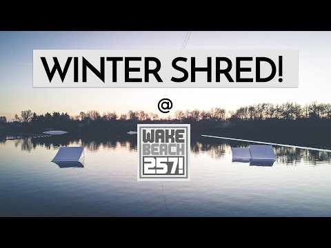 Winter Shred wakeboard video