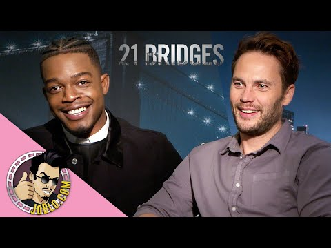 Taylor Kitsch And Stephan James Interview For 21 Bridges