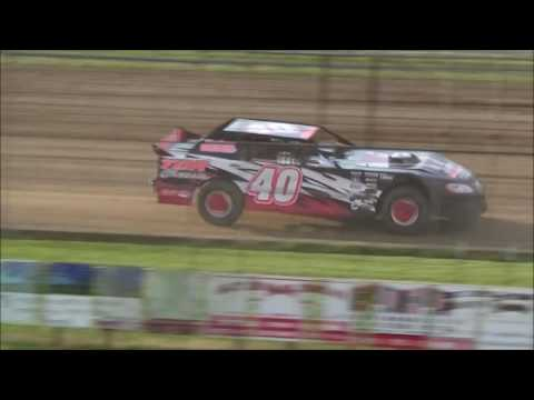 LMSS TOURING SERIES HEAT 2 SIOUX SPEEDWAY JUNE 2,2016
