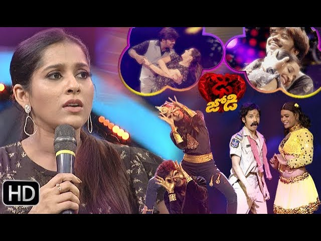 Dhee Jodi Semi Finals | 14th August 2019   | Full Episode | ETV Telugu